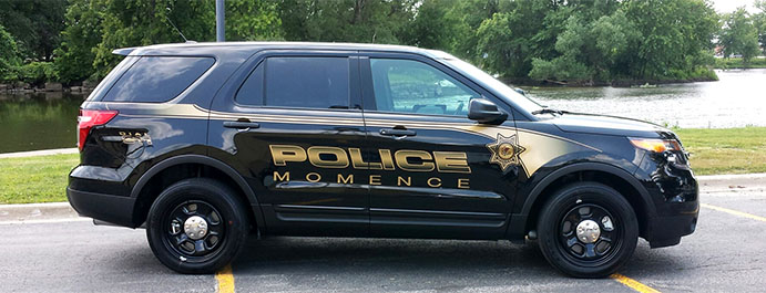 2015 Momence Police Department Ford Police Interceptor
